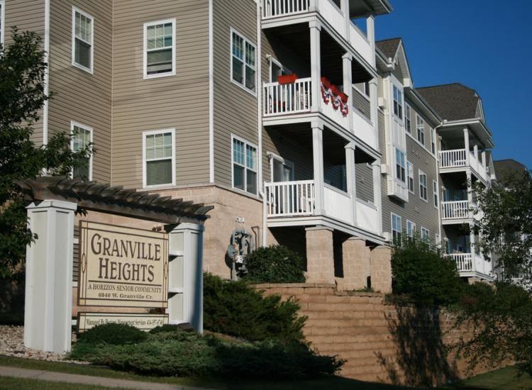 Granville Heights 55+ community is only three minutes away from the nearest grocery store.
