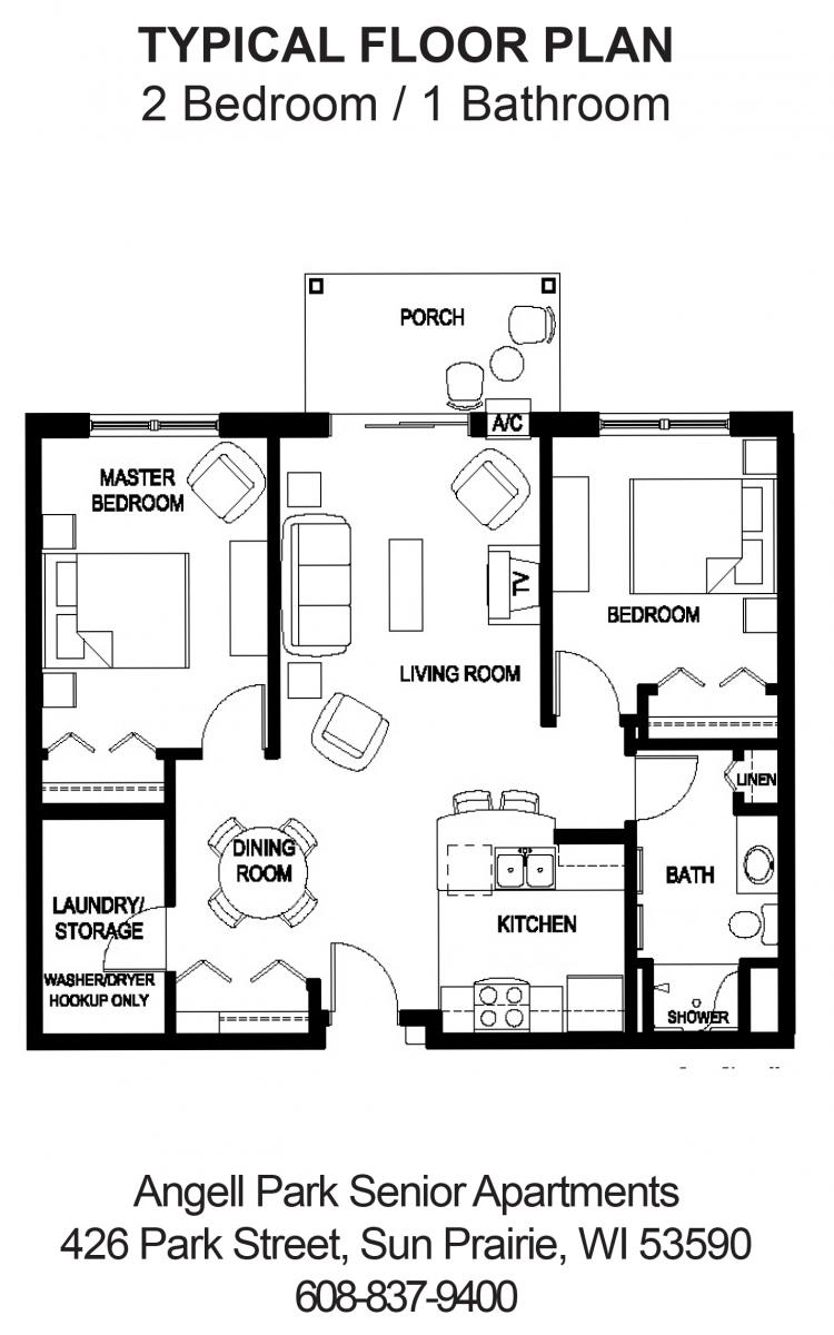 Sweet home senior apartments floor plans - Sweet home design ...