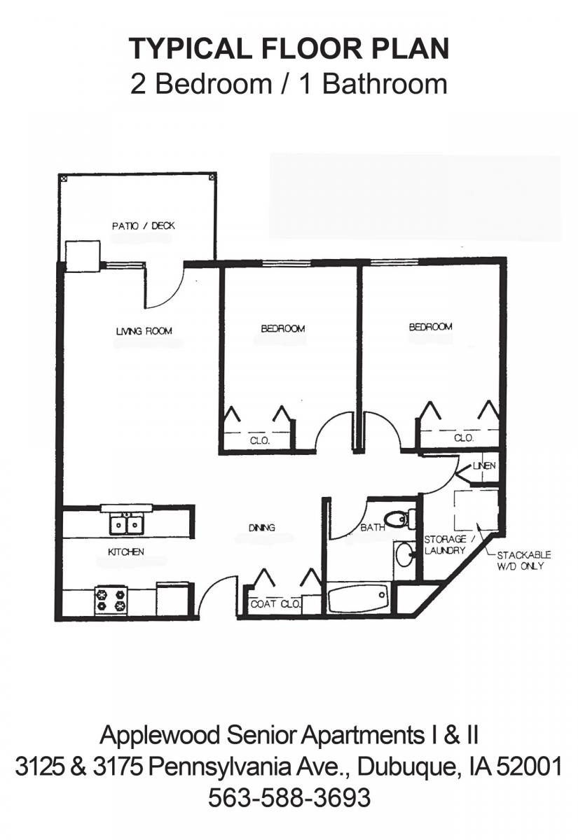 Apartment And Community Amenities. Applewood I